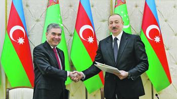 Ашхабад и Баку будут развивать сотрудничество в транспортно-транзитной сфере по маршруту Каспийское море.