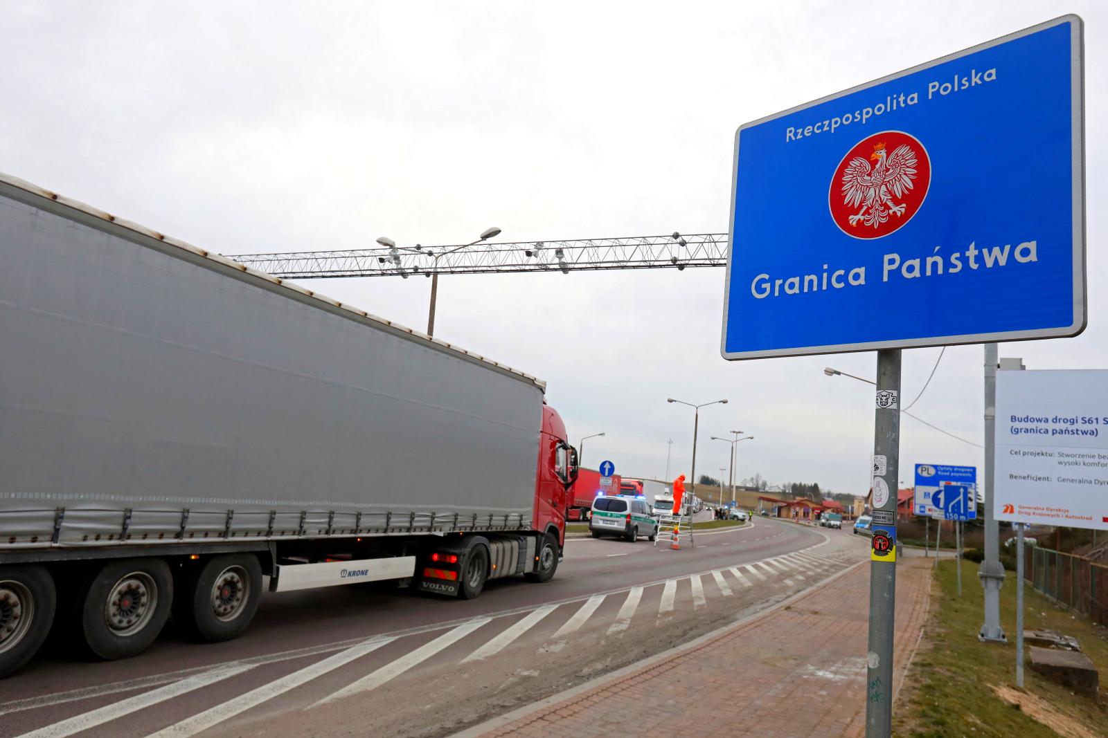 Польша открывает границы со странами ЕС