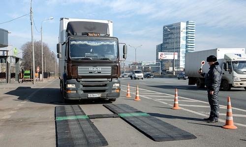 Россия. Утверждены изменения в законодательство о весовом и габаритном контроле транспортных средств