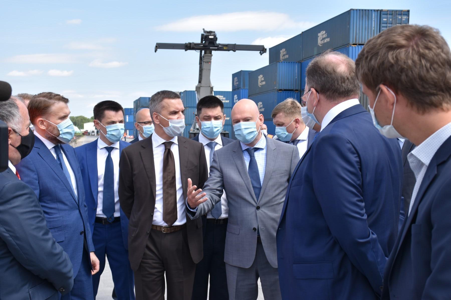 В Калужской области стартовал федеральный проект «Транспортно-логистические центры»