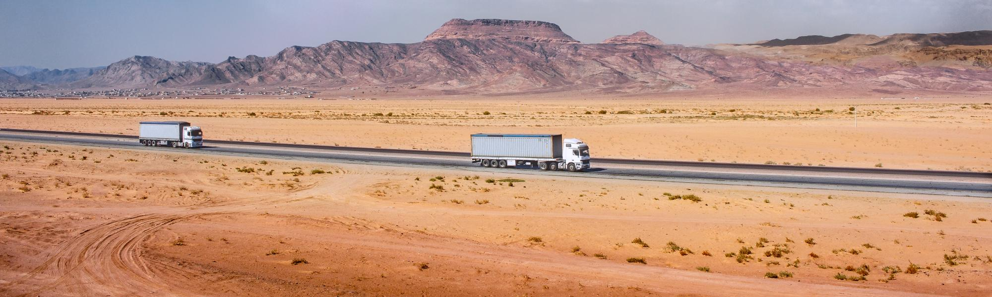 CNN reports on vital role of transport and TIR for GCC to recover from COVID-19