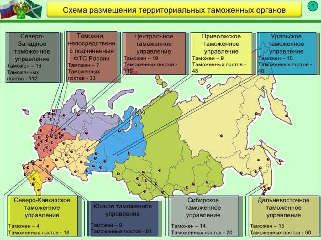 Россия. В связи с реорганизацией таможенных органов будет ликвидирован ряд таможенных постов