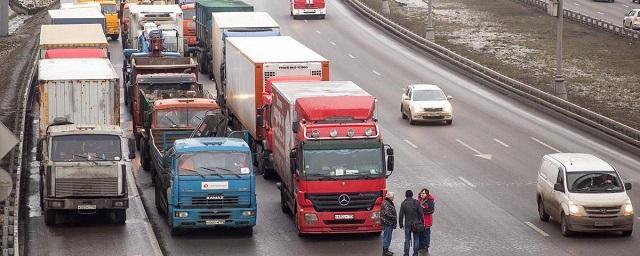 Россия. Транзит грузовиков тяжелее 12 тонн по МКАД ограничат на постоянной основе