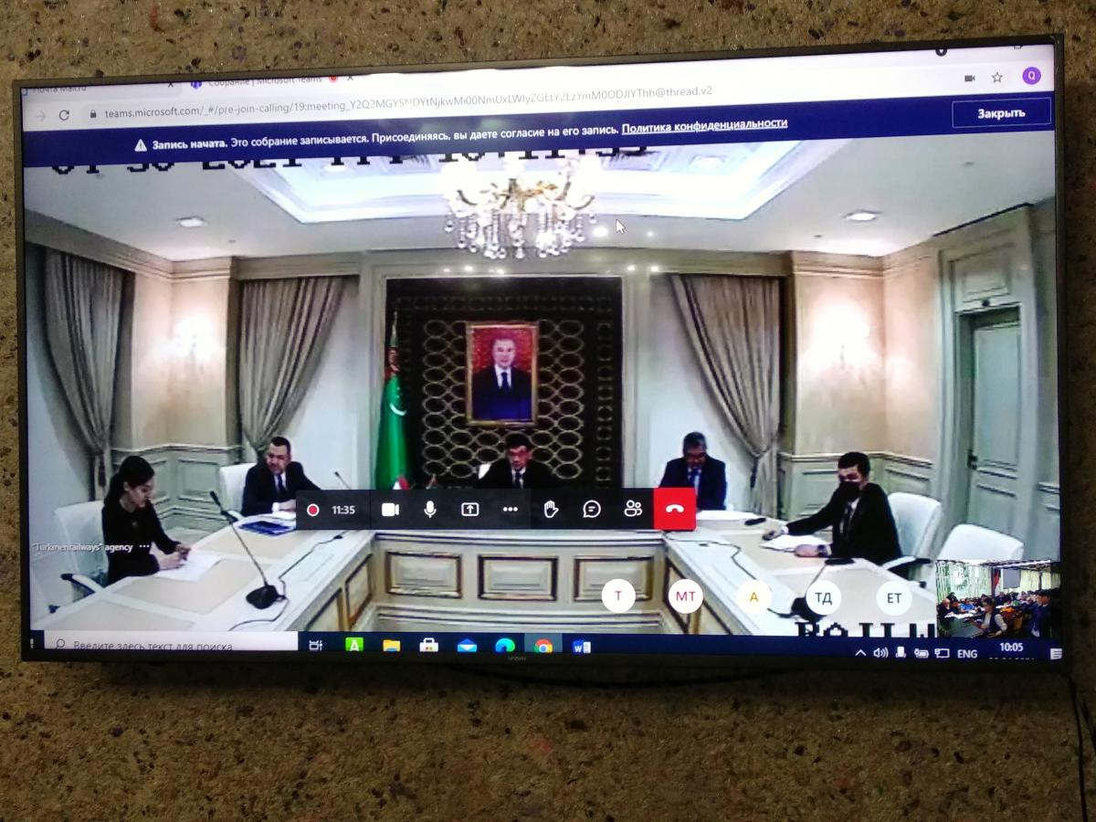 Таджикистан и Туркменистан обсудили взаимодействие в международных грузоперевозках