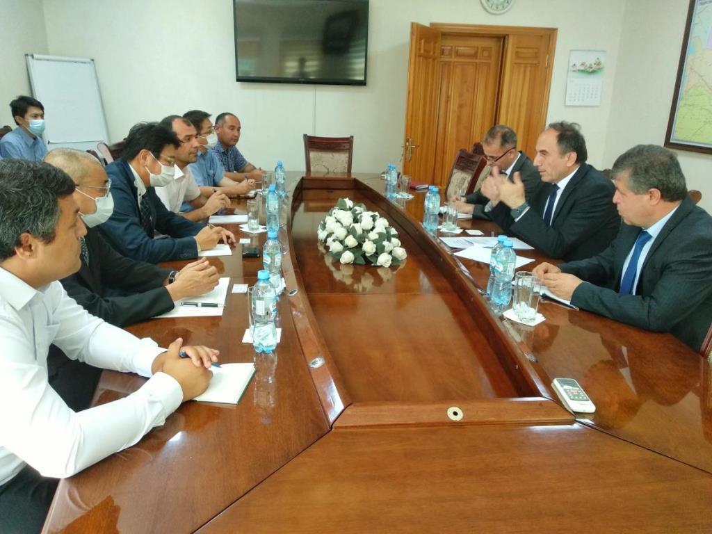 Dai Nippon Construction приступает к строительству участка автодороги Душанбе-Бохтар