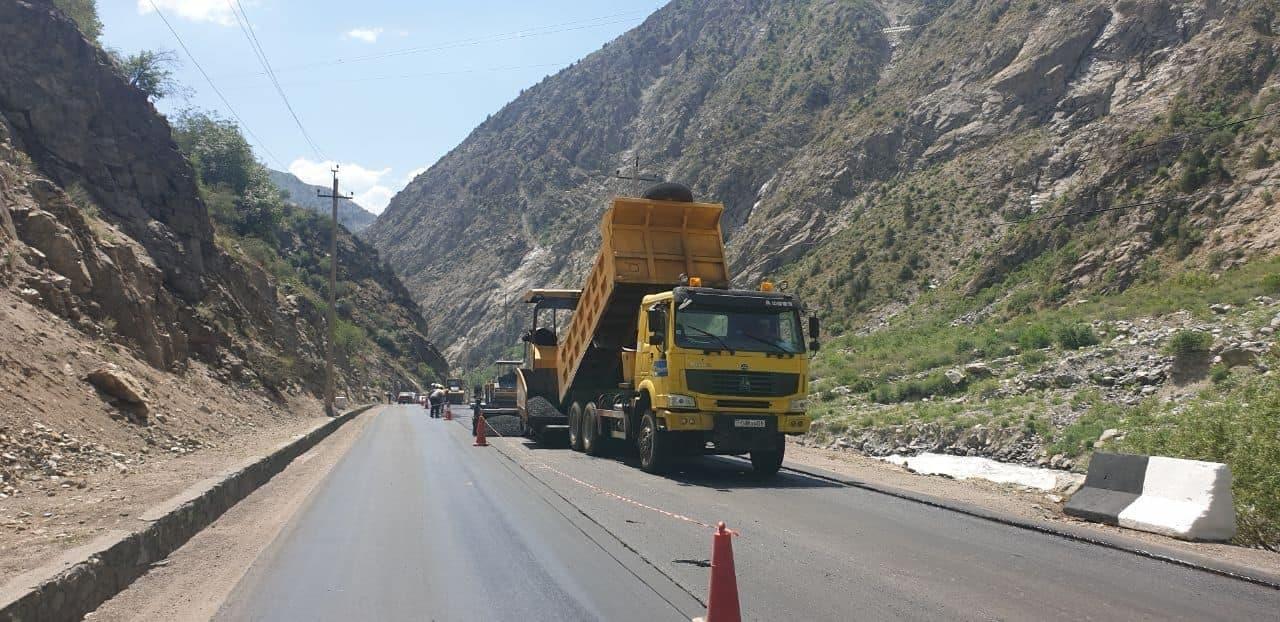 Автодорога Душанбе-Чанак: Ремонтные работы являются одним из приоритетов «IRS»